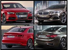 Image Comparison BMW 1 Series Sedan vs Audi A3