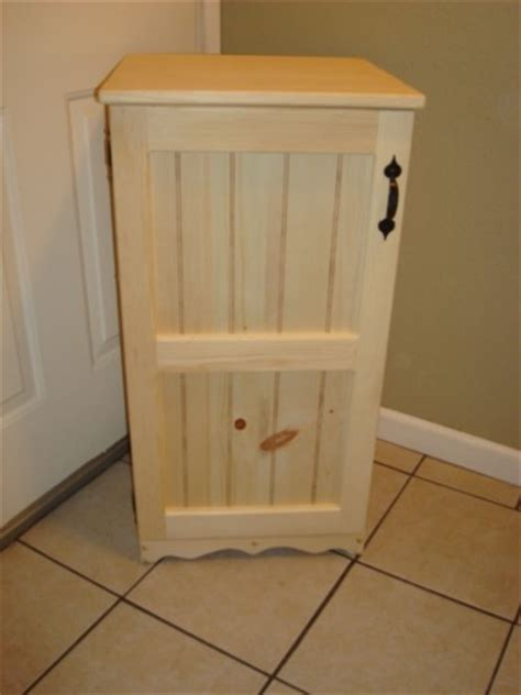 Small Wood Cabinet by New Unfinished Small Cabinet To Match Trash Recycle