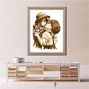 Stickbilder Zum Selbersticken : stickbild kinder kreuzstich sticken handarbeit weihnachten geschenk handmade pinterest ~ Watch28wear.com Haus und Dekorationen
