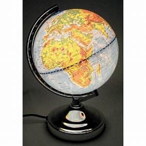 Lampe Globe Terrestre : lampe globe terrestre touch s allume au toucher de achat vente lampe globe terrestre touch ~ Teatrodelosmanantiales.com Idées de Décoration