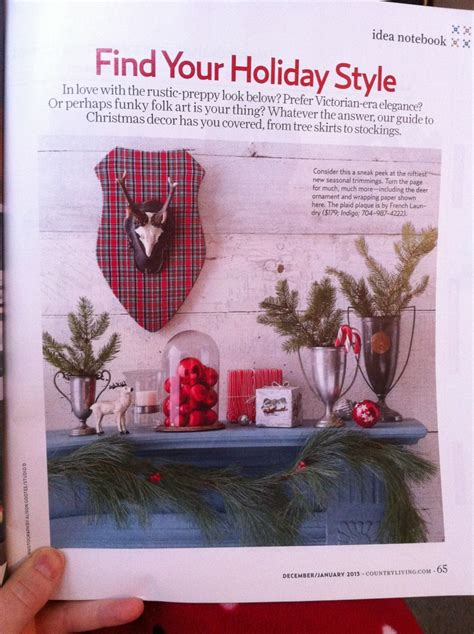 country living magazine christmas crafts