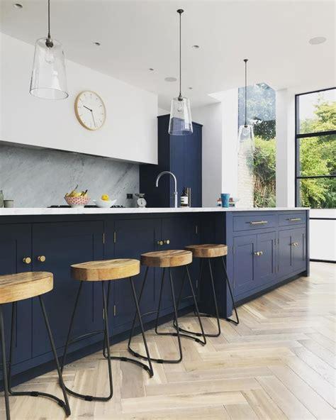 blue interiors  color  interior decorating ideas