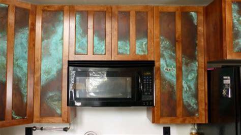 Copper Kitchen Cabinet Door Inserts   CK Valenti Designs, Inc.