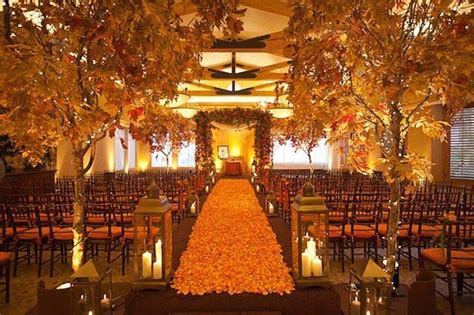 21 Stunning Fall Wedding Ideas StayGlam
