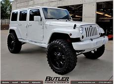 Jeep Wrangler with 22in RBP 97R Wheels exclusively from