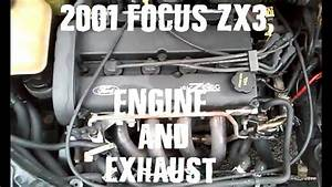 2001 Ford Focus Zx3 Engine  Exhaust