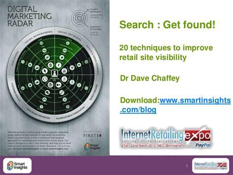seo and sem basics retail seo and sem 20 techniques to improve retail site