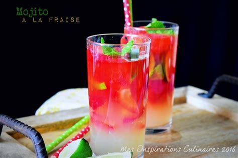 cuisine de base mojito à la fraise sans alcool le cuisine