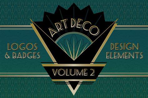 deco logos and design elements