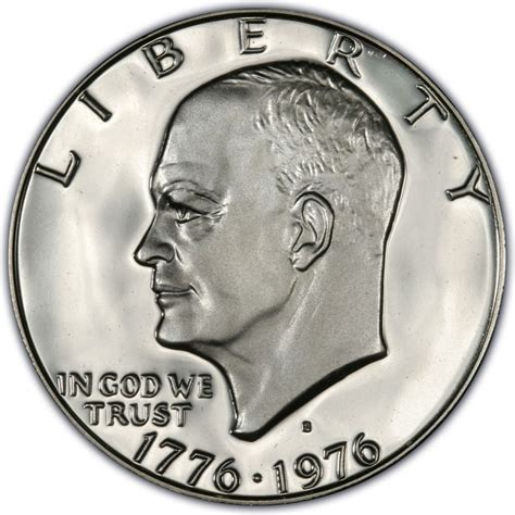 eisenhower dollar value 1976 eisenhower dollar values and prices past sales coinvalues com