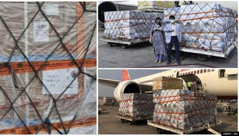 COVID-19: India receives 10,000 Rapid test kits from S ...