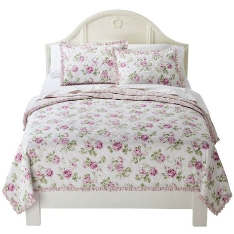 target shabby chic pink quilt simply shabby chic 174 garden rose quilt perfect for the home pinterest gardens quilt and shabby