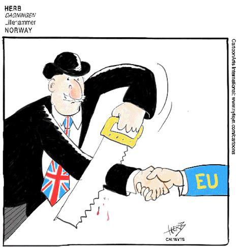 worlds  striking brexit reactions  cartoons  washington post