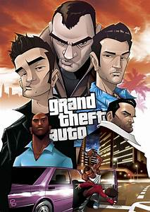 All the Grand Theft Auto legends in one picture. : gaming