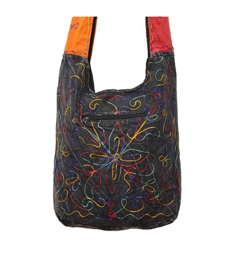 Colourful Floral Embroidered Bag| Hippie Bags From ...