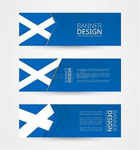 Scotland Banners Set Stock Vector  Illustration Of Kilt