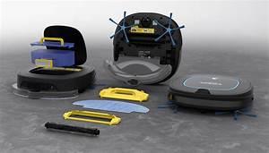 robot aspirateur laveur de sol eziclean sweepy With aspirateur robot et laveur sols durs tapis et moquette