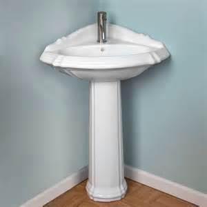 pedestal corner pedestal sink and faucets on pinterest