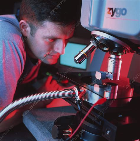 Interference microscope - Stock Image - H504/0171 ...
