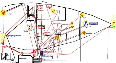 How To Ground A Boat Electrical System by Boat Circuit Breaker Wiring Diagram 35 Wiring Diagram