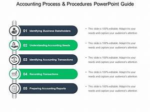 Accounting Process And Procedures Powerpoint Guide