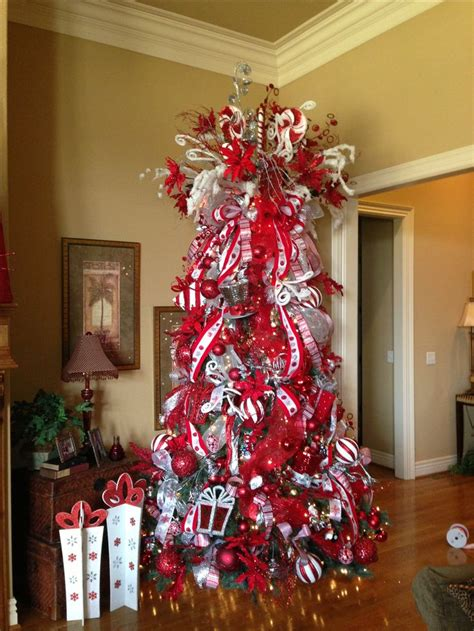 christmas themes ideas and white theme tree decorating 2013 trees