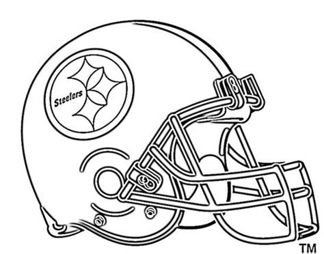 nfl football helmet coloring pages   print