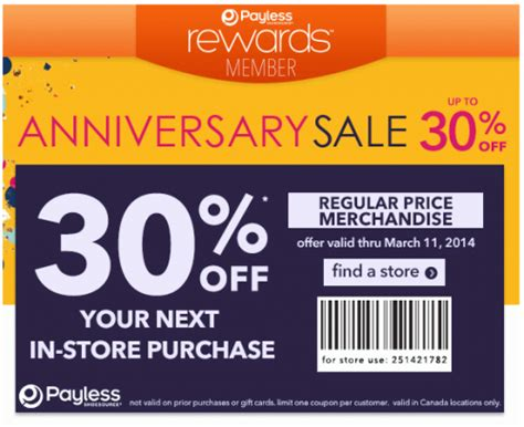 Shoes Coupon Free Printable Coupons Payless Shoes Coupons
