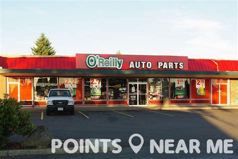 oreilly auto parts   points