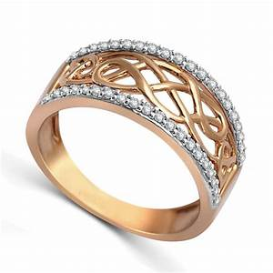 designer rose gold diamond wedding band ring for women With rose gold wedding rings for women