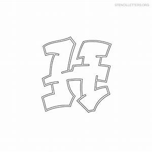 free graffiti letter stencil coloring pages With graffiti letter stencils