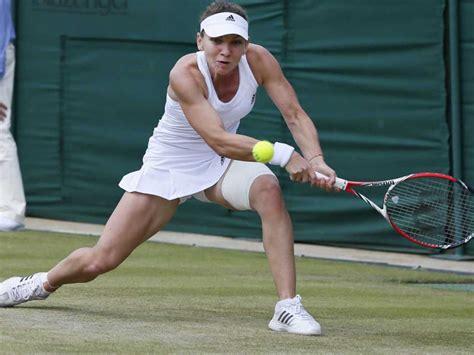 Cincinnati Open: Johanna Konta loses to Simona Halep in quarter-finals - BBC Sport