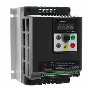 2 2kw 220v Single To 3 Phase Variable Frequency Converter Motor Speed Drive Inverter Sale