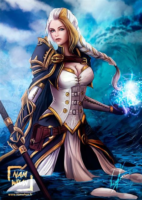 Pin By Krystal M On Blizzard Jaina Proudmoore