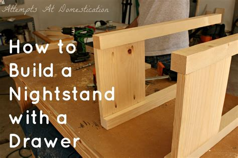 work  wood project cool night stand woodworking plans