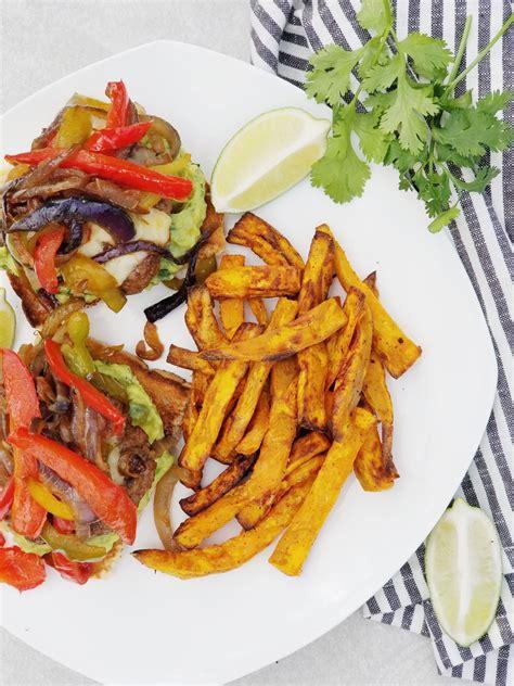 fajita burgers minute fryer air fries potato sweet burger