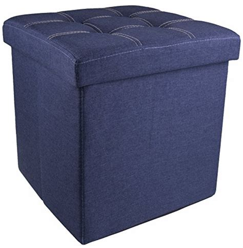 Best Storage Ottoman by Top 5 Best Storage Ottoman Blue For Sale 2017 Best For