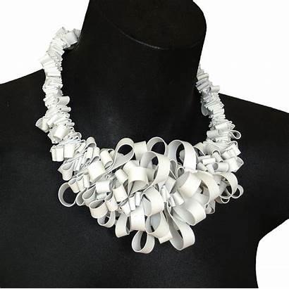 Rubber Necklace Ruffle Jewellery