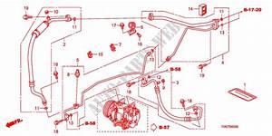 Air Conditioner Hoses Pip Es Lh Body Parts Ex A 2009 City