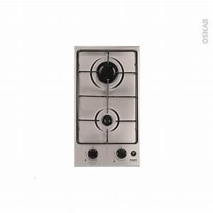 Plaque Vitro 2 Feux : plaque de cuisson 2 feux gaz 29 cm inox frionor dginfri ~ Dailycaller-alerts.com Idées de Décoration