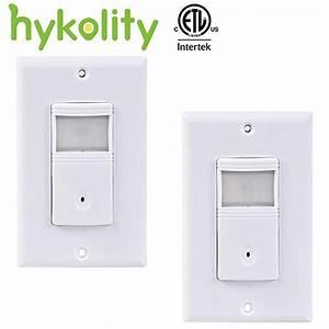 Hykolity Vacancy  U0026 Occupancy Pir Motion Sensor Wall Switch