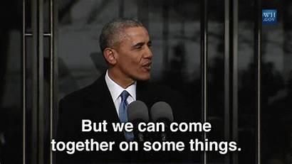 Together Obama Come Gifs Tweet Giphy Barack