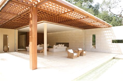 modern pergola deck contemporary with hancock park folding