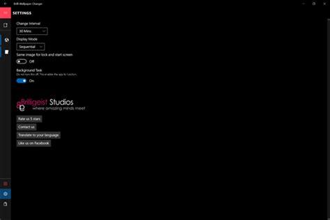 brilli wallpaper changer start desktop lockscreen for windows 10 pc free