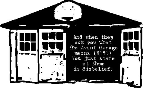 Definition Of A Garage by Ubu Web The Meaning Of The Avant Garage