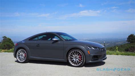 Audi Tts Coupe Modification by 2016 Audi Tts Coupe Review Slashgear