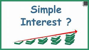 What Is Simple Interest