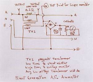 Volt Ammeter Shunt Wiring Diagram