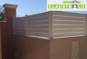 Brise Vue En Aluminium : claustra alu tendance en kit pare vue mod le persienne ~ Edinachiropracticcenter.com Idées de Décoration