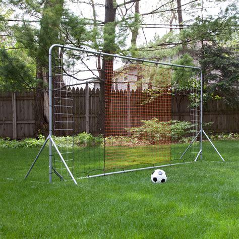 Soccer Goal For Backyard by Franklin Tournament Soccer Rebounder Soccer Goals At